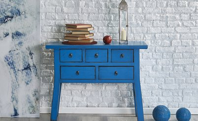 pairing flooring with pop colours